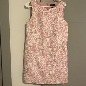 Midi pink dress